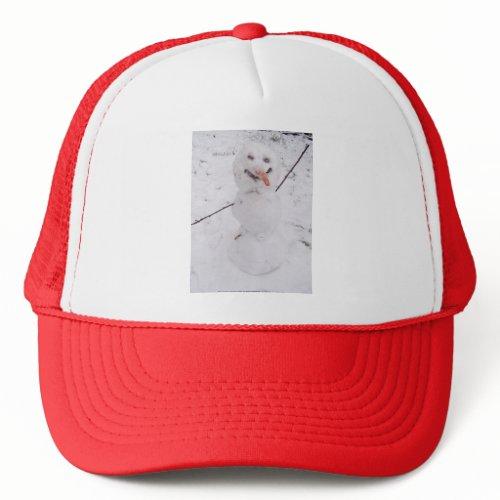 snowman pizazz! hat