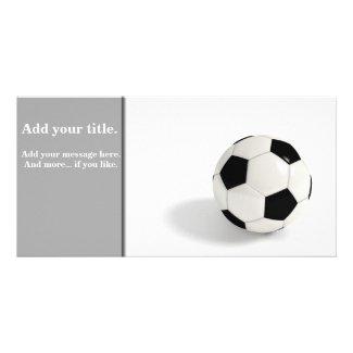 Soccer ball photo cards