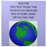 soccer cloth napkins