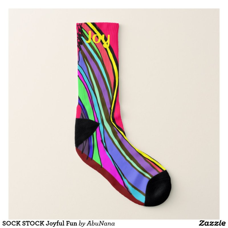 SOCK STOCK Joyful Fun Socks