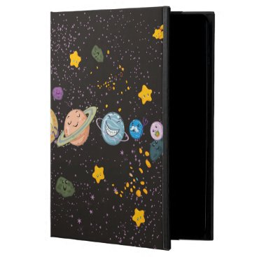 Solar System Funny Planets  iPad Air Case