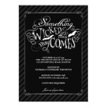 Something Wicked Happy Halloween Party Invitation