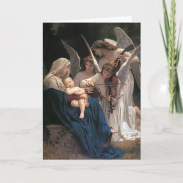 Song of the Angels Vintage Christmas Holiday Card