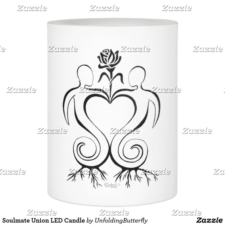 Soulmate Union LED Candle