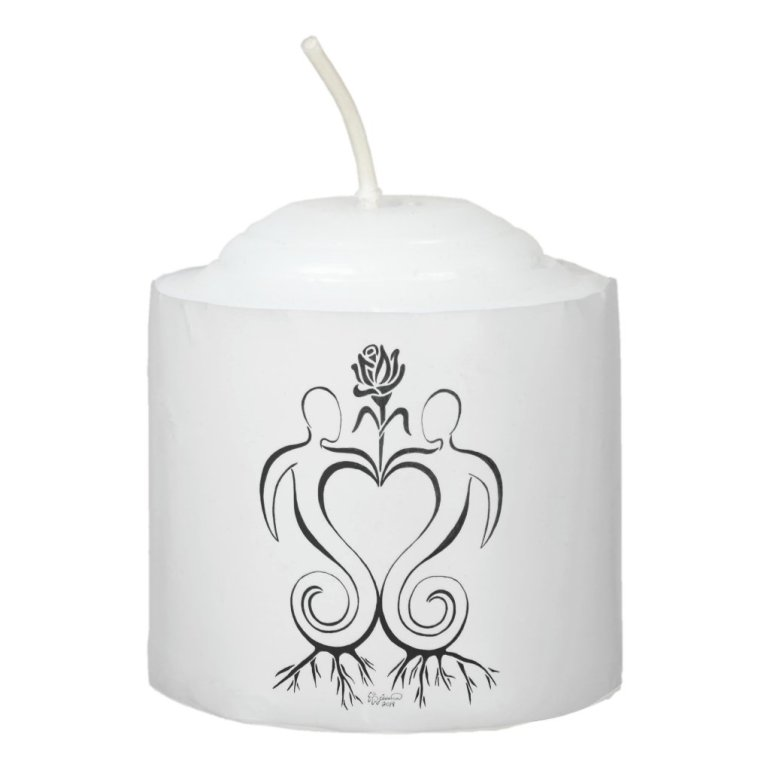 Soulmate Union Votive Candle