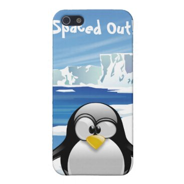Spaced Out Penguin Cover For iPhone SE/5/5s