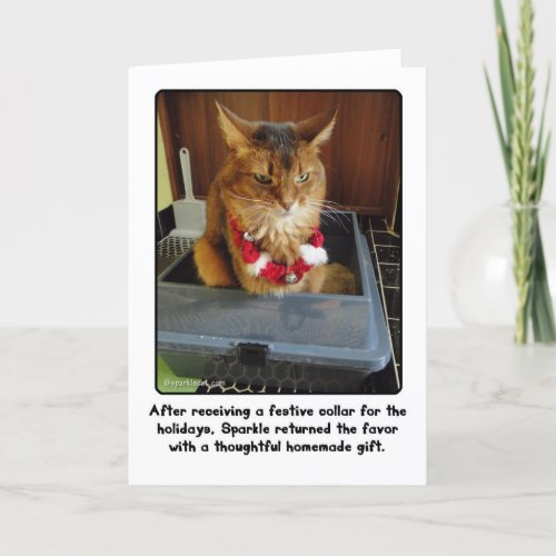 Sparkle's Thoughtful Holiday Gift Card