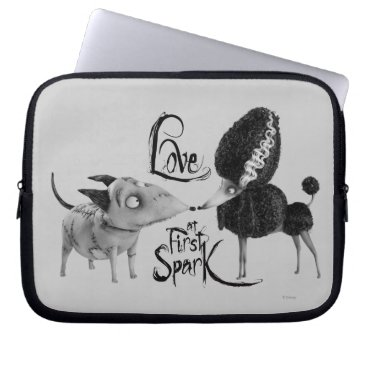 Sparky and Persephone: Love at First Spark Laptop Sleeve