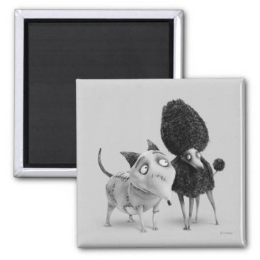 Sparky and Persephone Magnet