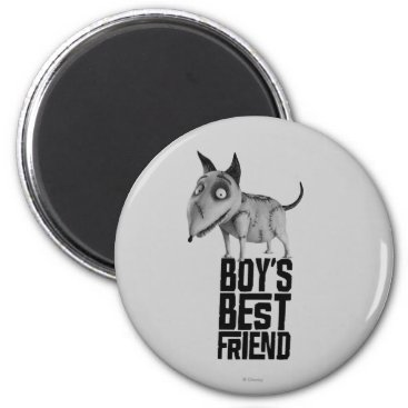 Sparky: Boy's Best Friend Magnet