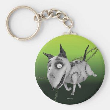 Sparky Running Keychain