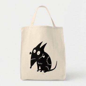 Sparky Sitting Silhouette Tote Bag