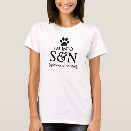 Spay and Neuter Pets T-Shirt
