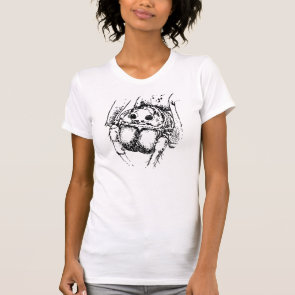 Spider Insect Illustration T Shirts
