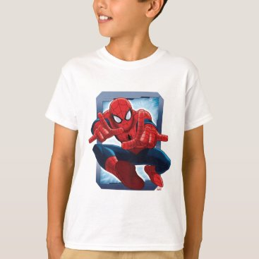 Spider-Man Character Card T-Shirt