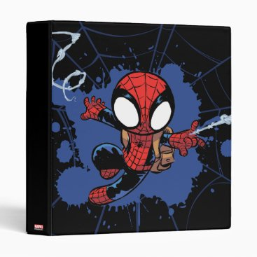 Spider-Man | Chibi Spider-Man Web-Swinging 3 Ring Binder