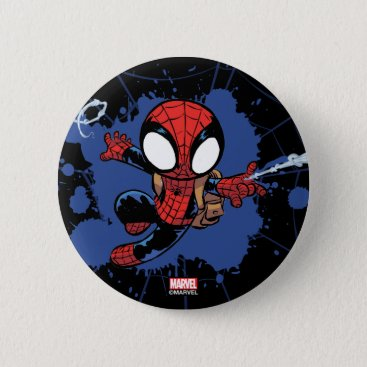 Spider-Man | Chibi Spider-Man Web-Swinging Button