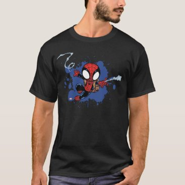 Spider-Man | Chibi Spider-Man Web-Swinging T-Shirt