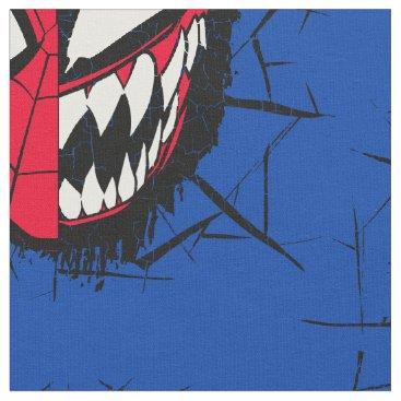 Spider-Man   Dual Spider-Man & Venom Face Fabric