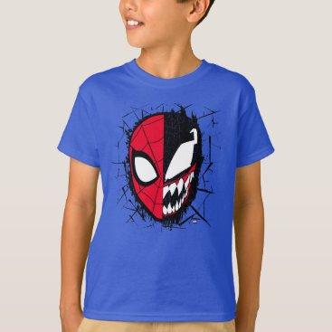 Spider-Man | Dual Spider-Man & Venom Face T-Shirt
