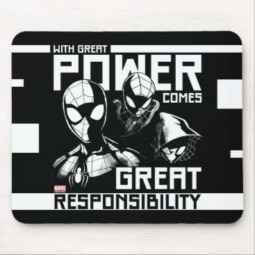 "Spider-Man | ""Great Responsibility"" Team Up Mouse Pad"