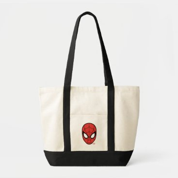 Spider-Man Head Icon Tote Bag