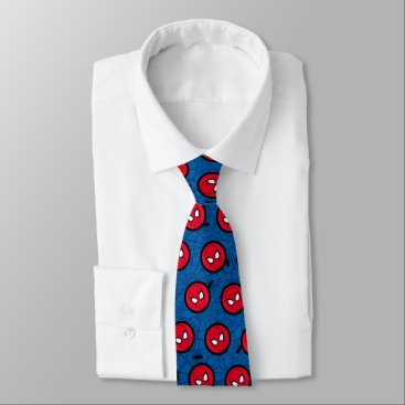 Spider-Man | Head Logo Neck Tie