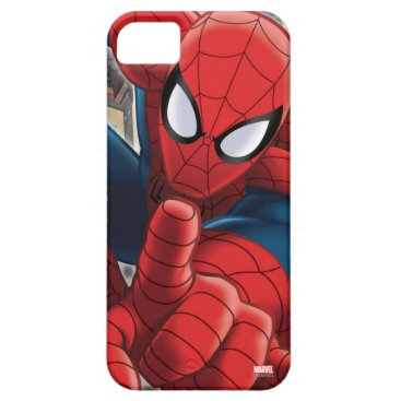 Spider-Man High Above the City iPhone SE/5/5s Case