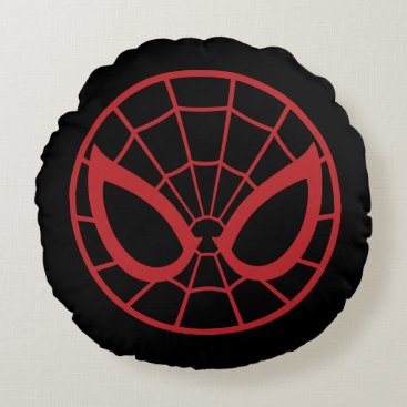 Spider-Man Iconic Graphic Round Pillow