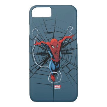 Spider-Man Leaping With Webbing iPhone 8/7 Case