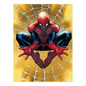 Spider-Man | Sitting In A Web Postcard