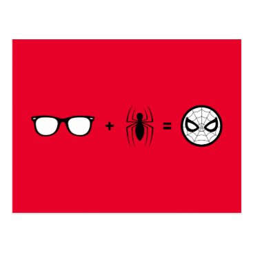 Spider-Man | Spider-Man Equation Postcard