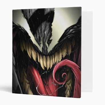 Spider-Man | Venom Close-Up 3 Ring Binder