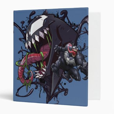 Spider-Man | Venom Symbiote Graphic 3 Ring Binder