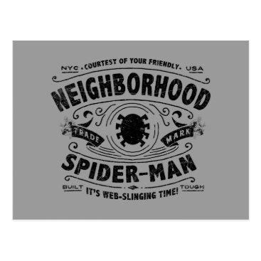 Spider-Man Victorian Trademark Postcard