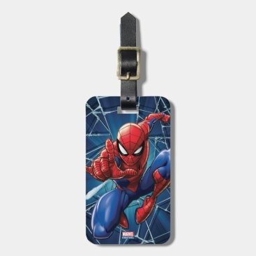 Spider-Man | Web-Shooting Leap Luggage Tag