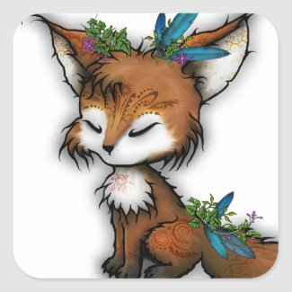 Spirit Fox - Sticker sticker