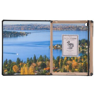 Splendid colors of fall at Bellevue iPad Cases