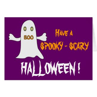 Spooky Halloween ! - Card card
