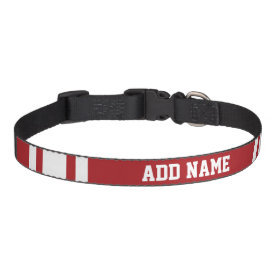 Sports Jersey with Your Name and Number Pet Collars