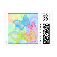 Spring Butterfly Postage Stamp