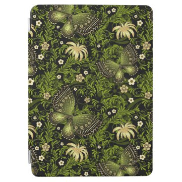 Spring Green-gold Pattern iPad Air Cover