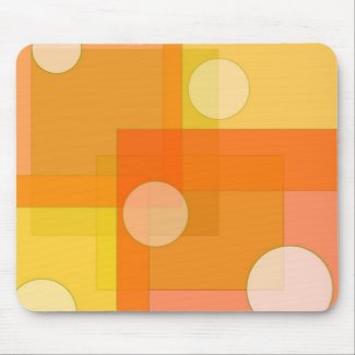 Squares and circles - Mousepad mousepad