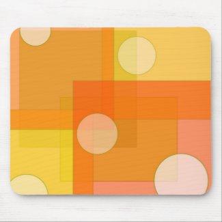 Squares and circles - Mousepad mousepad