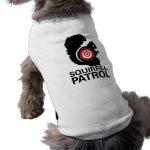 Squirrel Patrol Dog Shirt
