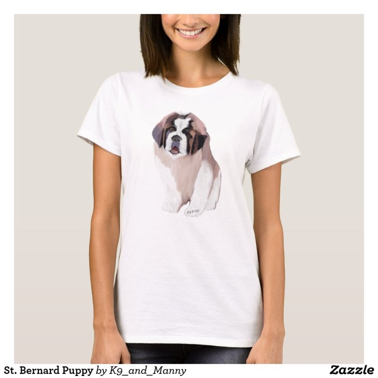 St. Bernard Puppy T-Shirt