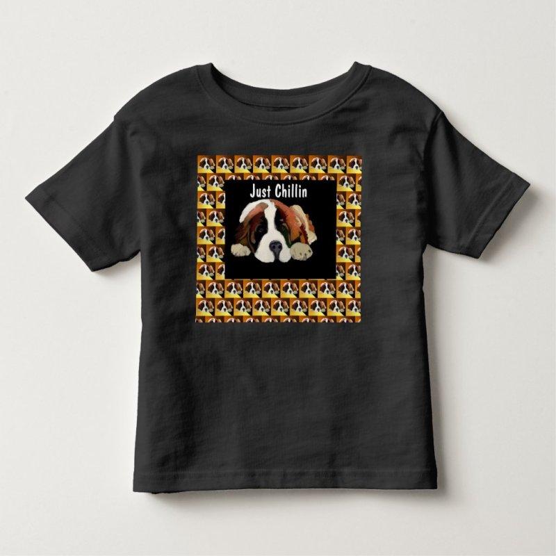 St. Bernard Puppy Toddler T-shirt