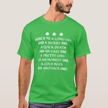 St. Patrick's Day Toast Shirt