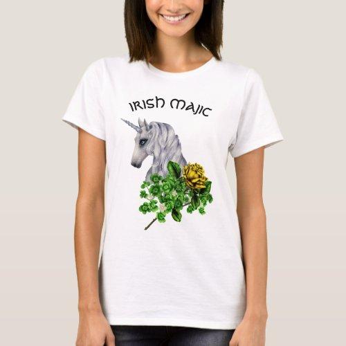 St. Patrick's Day Unicorn Women's t-Shirt