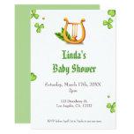 St. Patrick's Irish Baby Shower Invitation